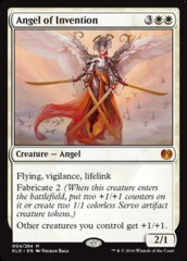 Angel of Invention - Foil