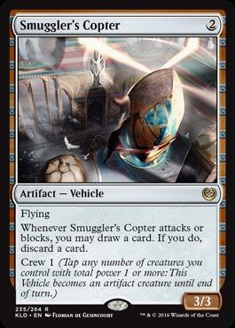 Smuggler's Copter - Foil