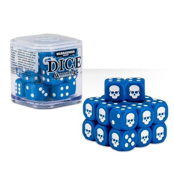 Warhammer 40k Dice Blue