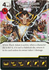 Black Adam - Ruler of Khandaq (Die & Card Combo)