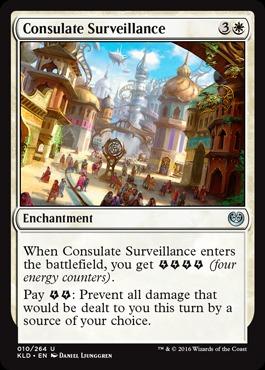 Consulate Surveillance - Foil