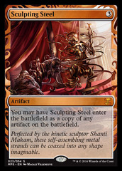 Sculpting Steel (Masterpiece Foil)