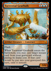 Torrential Gearhulk (Masterpiece Foil)