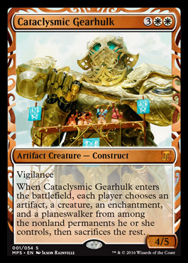 Cataclysmic Gearhulk - Foil