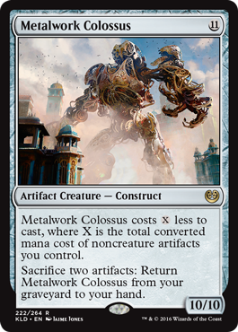 Metalwork Colossus - Foil