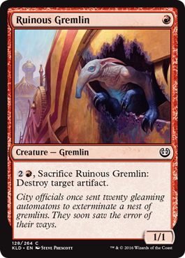 Ruinous Gremlin - Foil