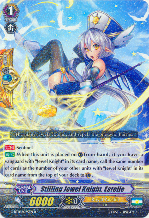 Stilling Jewel Knight, Estelle - G-BT08/025EN - R