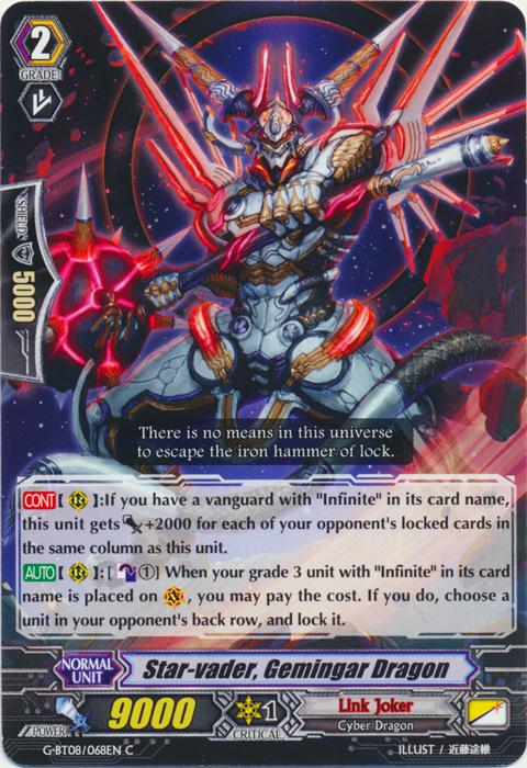 Star-vader, Gemingar Dragon - G-BT08/068EN - C