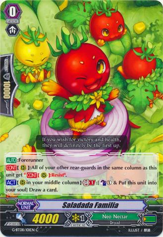 Saladada Familia - G-BT08/101EN - C