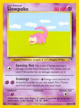 Slowpoke - 93/110 - Common