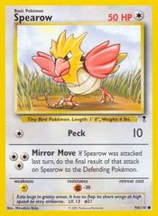 Spearow - 94/110 - Common on Channel Fireball
