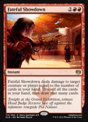 Fateful Showdown - Foil