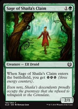 Sage of Shailas Claim - Foil