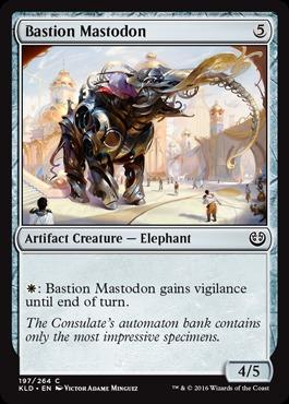 Bastion Mastodon - Foil