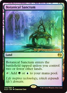 Botanical Sanctum - Foil - Prerelease Promo