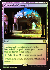 Concealed Courtyard - Foil - Prerelease Promo
