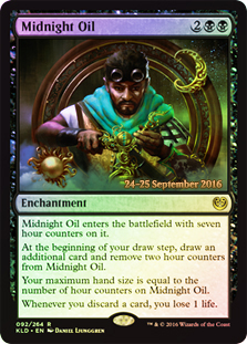 Midnight Oil - Foil - Prerelease Promo