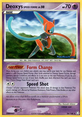 Deoxys Speed Forme - 26/146 - Rare on Channel Fireball