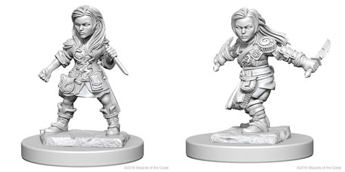 Nolzurs Marvelous Miniatures - Halfling Rogue (Female)