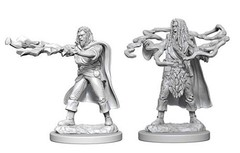 Nolzur's Marvelous Miniatures - Human Sorcerer (Male)