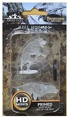 Pathfinder Battles Unpainted Minis - Hell Hounds
