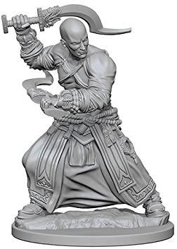 Pathfinder Battles Unpainted Minis - Human Male Monk