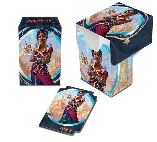 Ultra Pro - Kaladesh Saheeli Rai Full-View Deck Box for Magic