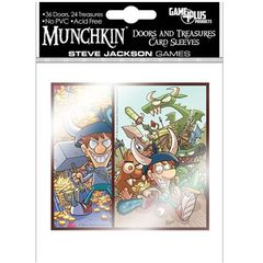 MUNCHKIN: DOORS AND TREASURES CARD SLEEVES