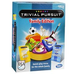 TRIVIAL PURSUIT  - FAMILY EDITION (2016)