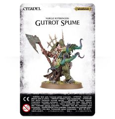 Nurgle Rotbringers - Gutrot Spume ( 83-27-w )