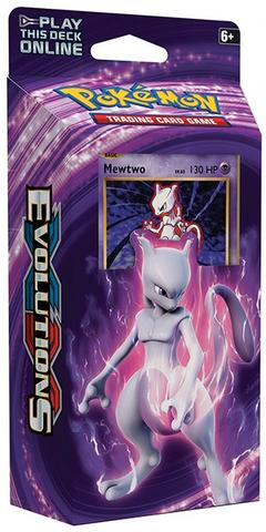 XY Evolutions - Theme Deck (Mewtwo Mayhem)