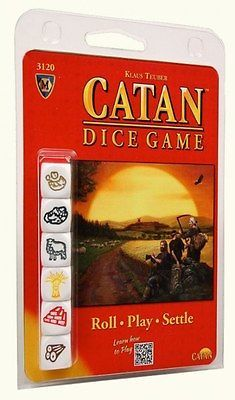 Catan: Dice Game Clameshell Edition