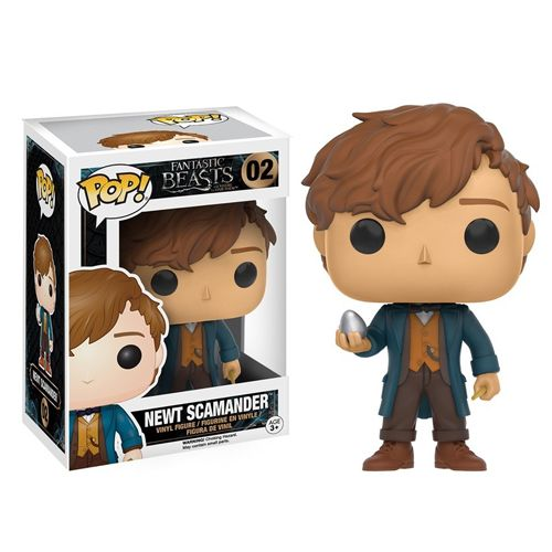 Animation Series - #02 - Newt Scamander (WITH EGG) (Fantastic Beasts)