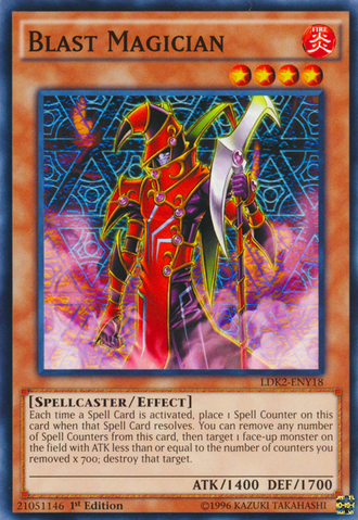 Blast Magician - LDK2-ENY18 - Common - 1st Edition