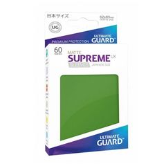 Matte - Green - Supreme UX (Ultimate Guard) - Small Sleeves - 60ct