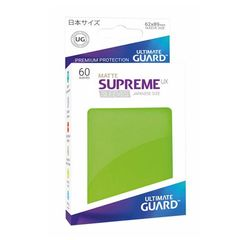 Matte - Light Green - Supreme UX (Ultimate Guard) - Small Sleeves - 60ct