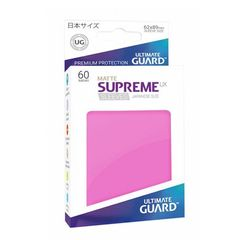 Matte - Pink - Supreme UX (Ultimate Guard) - Small Sleeves - 60ct