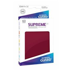 Ultimate Guard - Supreme UX Sleeves Small Size - Burgundy (60)