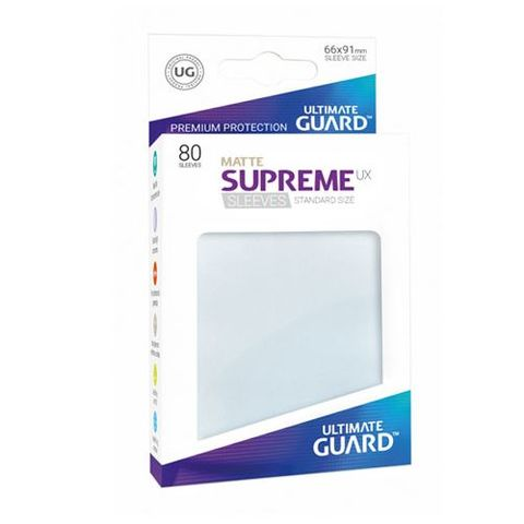 Ultimate Guard - Supreme UX Sleeves Standard Size - Frosted (80)