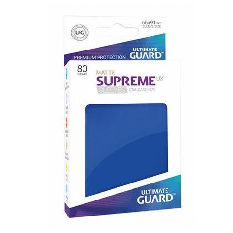 Ultimate Guard - Supreme UX Sleeves Standard Size - Matte - Blue (80)