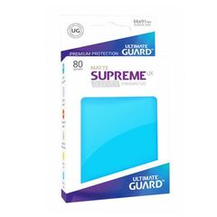 Ultimate Guard - Supreme UX Sleeves Standard Size - Matte - Royal Blue (80)