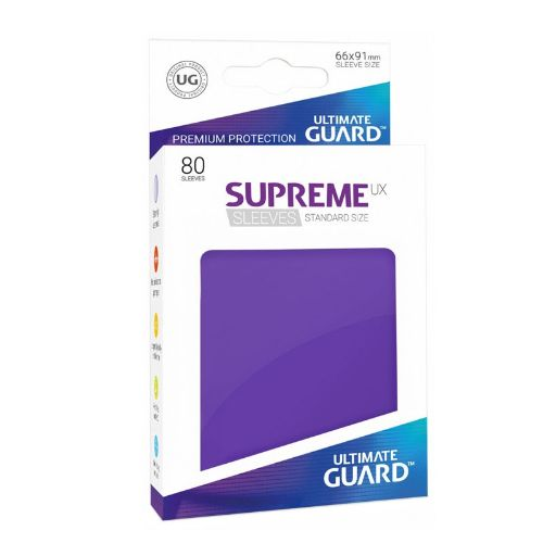 Ultimate Guard: Standard Supreme UX Sleeves Purple (Box of 80)