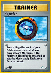 Magnifier - 101/105 - Uncommon - 1st Edition