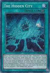 The Hidden City - TDIL-EN085 - Secret Rare - Unlimited Edition