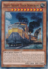 Heavy Freight Train Derricrane - TDIL-EN090 - Common - Unlimited Edition