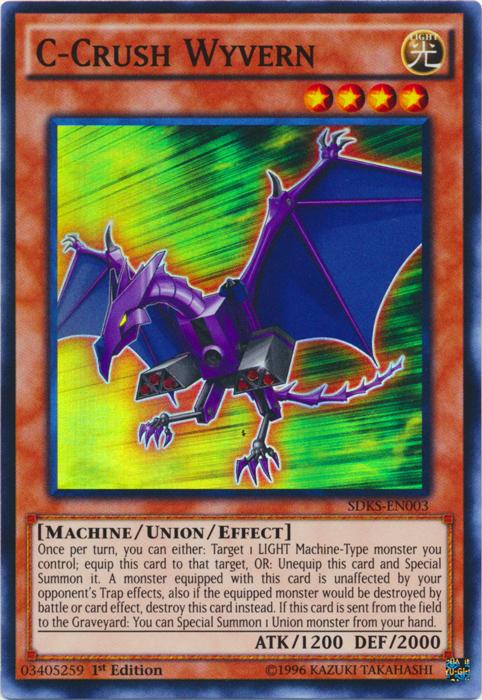 SDKS-EN019 Luster Dragon 1st edition Mint YuGiOh Card