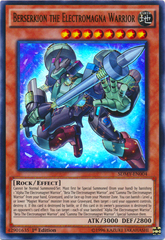 Berserkion the Electromagna Warrior - SDMY-EN004 - Ultra Rare - 1st Edition
