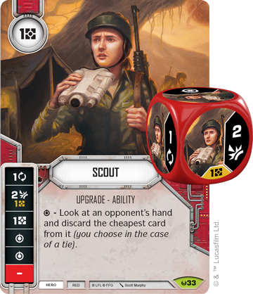 Scout (Sold with matching Die)