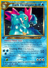 Dark Feraligatr - 5/105 - Holo Rare - 1st Edition