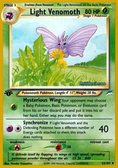 Light Venomoth - 53/105 - Uncommon - 1st Edition